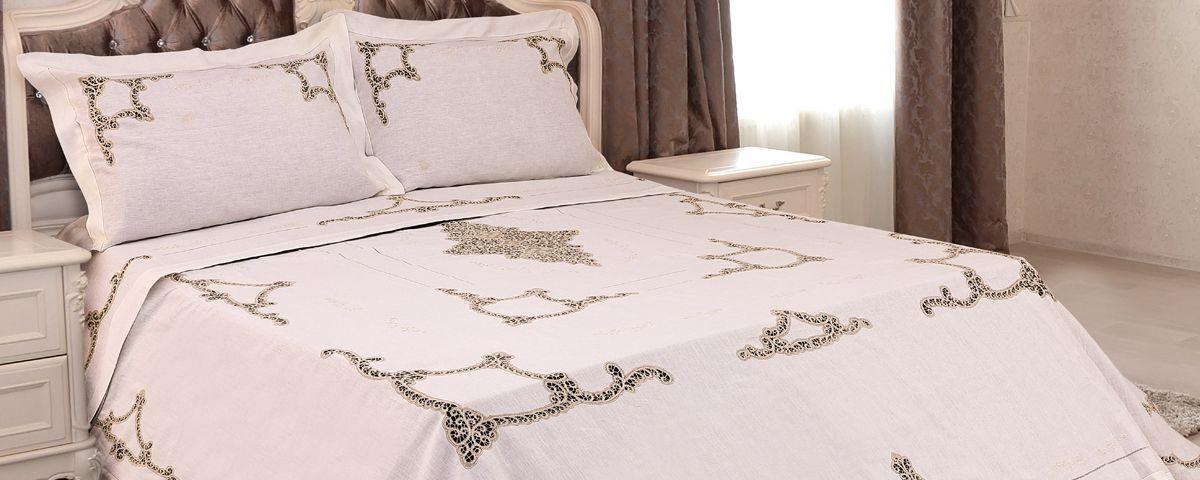 Copertina copriletto eleonora martica biancheria casa e - Primo letto corredo ...